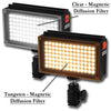 98 LED Video  Light Kit For Camera Camcorder W/ Battery