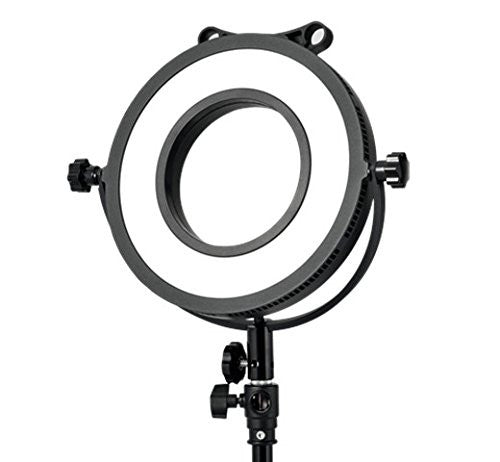 C-318R Daylight Dimmable Ring LED Edge Light With Rig and Light Stand Mount