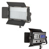 LED 576ASVL STUDIO VIDEO LIGHT PANEL BI-COLOR DIMMABLE WITH V-MOUNT BATTERY PLATE & LCD TOUCH SCREEN