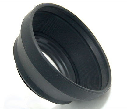 Rubber Lens Hood HR-2 For Nikon 50mm F1.8D F1.4D F1.2 AIS