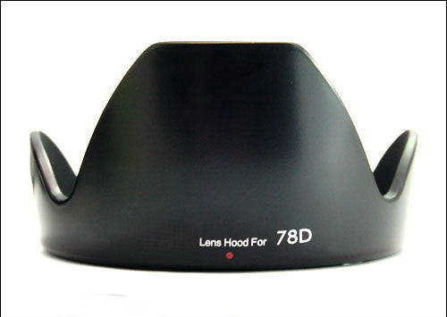 Lens Hood For Canon EF 18-200mm F/3.5-5.6 IS EW-78D