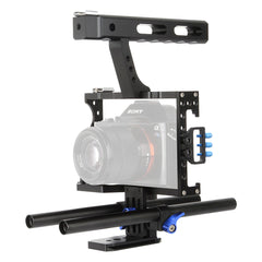 Camera Cage for Sony A7,A7R,A7S,A7II,A7RII,A7SII,Panasonic GH4