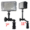 "11"" Articulating Magic Adjustable Arm fr Monitor LED Light Flash"