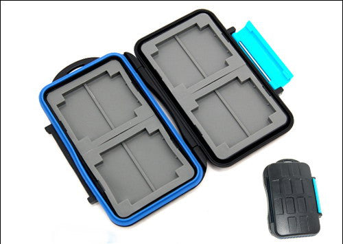 Memory Card Case For 4x CF 4X SD Waterproof  MC-2