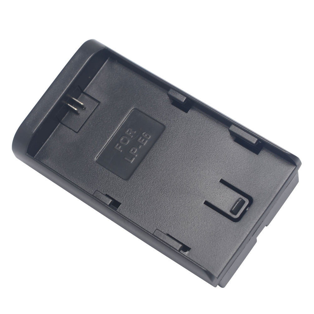 Canon Lp E6 To Sony Np F970 F750 F550 Battery Adapter