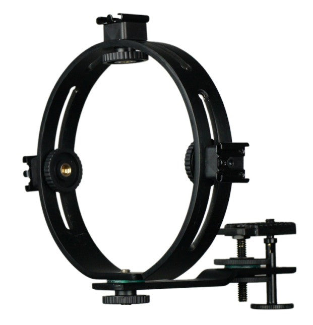 O-shaped Ring Bracket, Annular Bracket / 3 hot shoe Mount