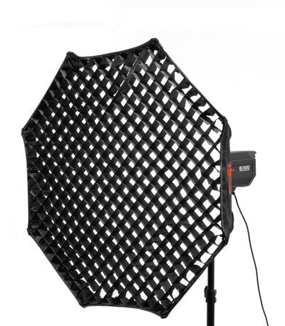 "24"" Octagon Softbox With Grid and Elinchrom Speed Ring"