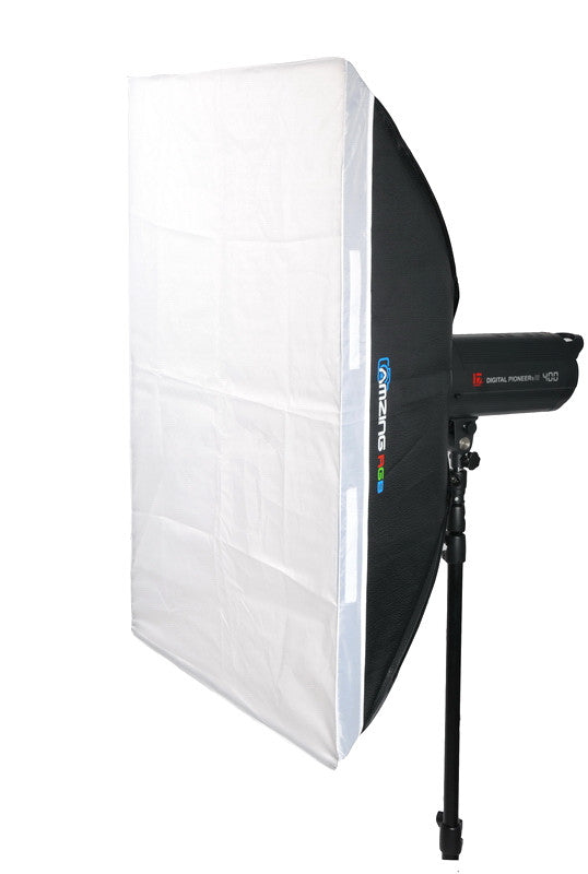 Softbox 60cm x 90cm for Alienbees Strobe Flash With Speedring