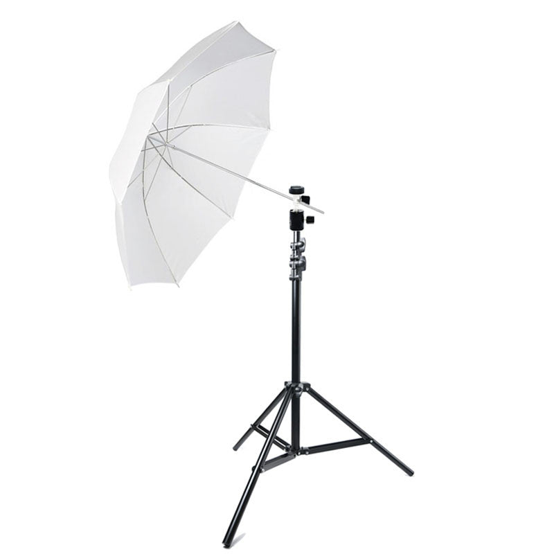 "Studio Kit: Light Stand + Umbrella(42"") + Flash Holder"