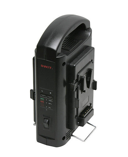 Swit SC-302S Portable 2-Channel Sequential Charger for V-mount Batteries
