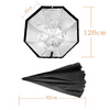 "GODOX 120CM 48"" OCTAGON UMBRELLA SOFTBOX W/GRID FOR STROBES AND SPEEDLITE"