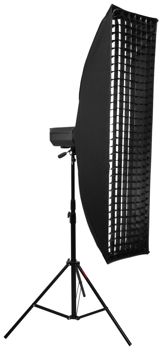 Strip Softbox 20cm x 90cm With Honeycomb Grid fr Alienbees