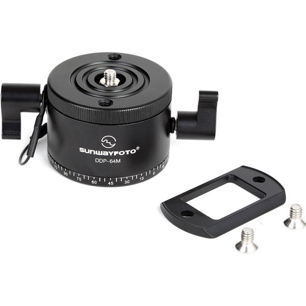 SunwayFoto DDP-64MX PanoramicTripod Head Indexing Rotator with Arca-Mounting Plate