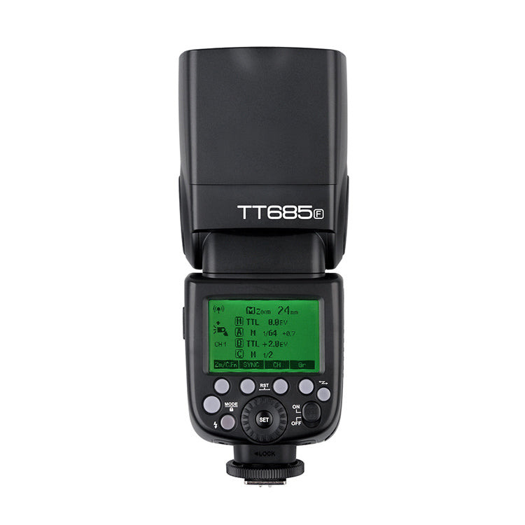 Godox TT685F 2.4G HSS E-TTL Wireless Speedlite Flash For Fuji X-Pro2 X-T20 X-T2 XT1 X-Pro1