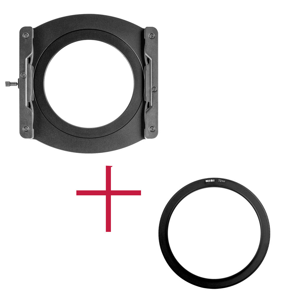 NiSi V5 ALPHA 100mm Aluminium Filter Holder with 72mm Adapter Ring
