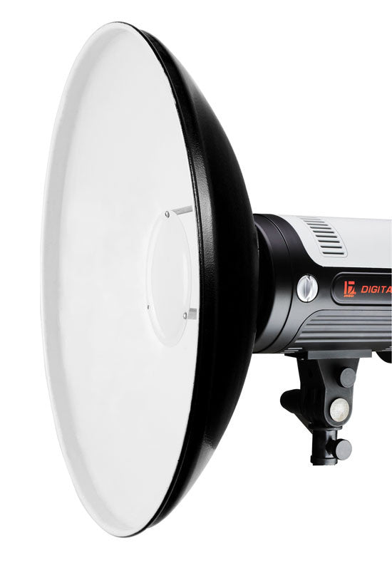"White Beauty Dish 20"" With Diffuser For Alienbees"
