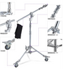 Heavy Boom Light Stand Multifunctional For Studio With Wheels