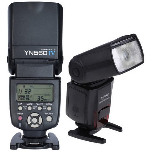 YONGNUO YN-560 IV Flash Speedlite Wireless Master 2.4GHz Built-in Trigger For Nikon & Canon