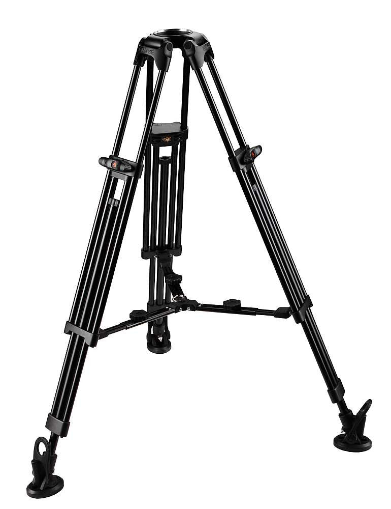 E-Image GA752 2 Stage Aluminum Tripod Legs with 75mm Ball