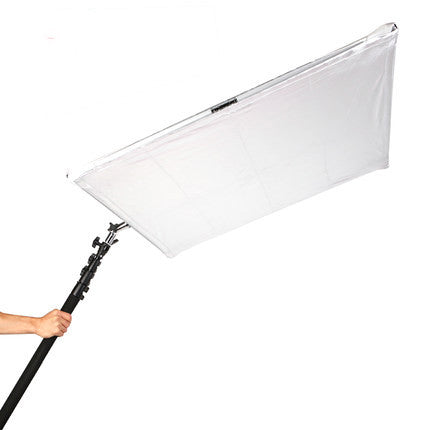 "Foldeable Scrim Lighting Panel Kit Collapsible Aluminum Frame With Diffusion & Silver/White Reflector 145cm*145cm/57""x57"""
