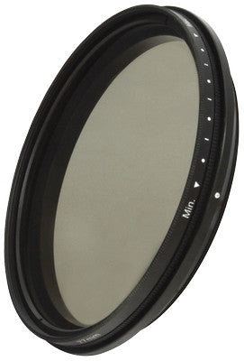 72mm Fader Neutral Density Filter Adjustable Variable ND2- ND400