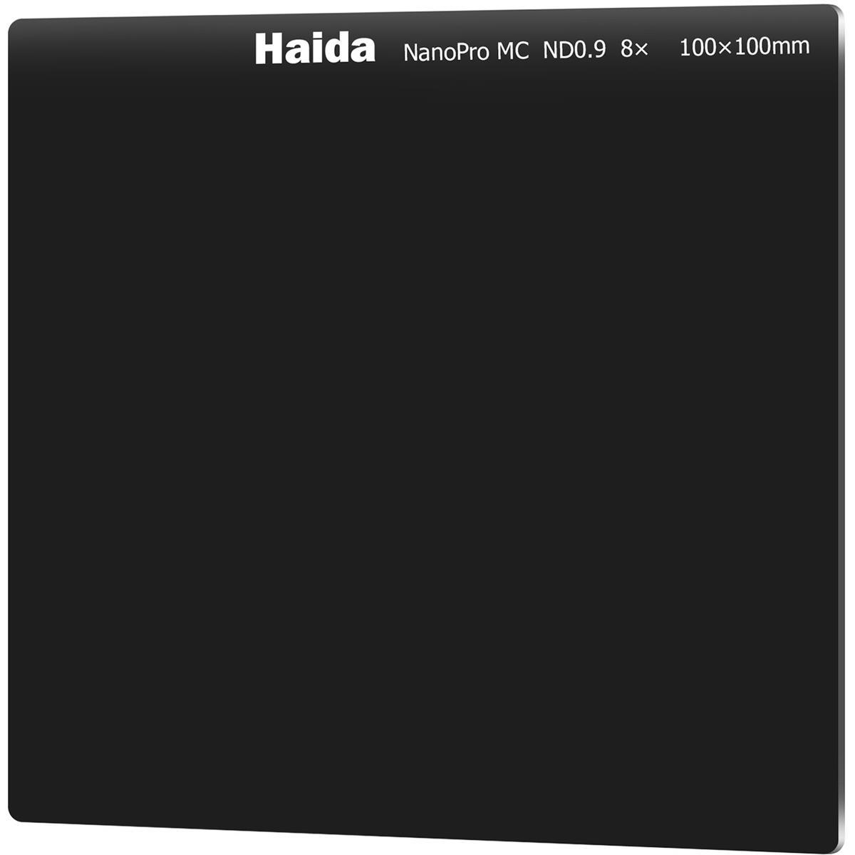 Haida NanoPro ND0.9 (8x) 3-Stop Multicoated Filter 100x100mm