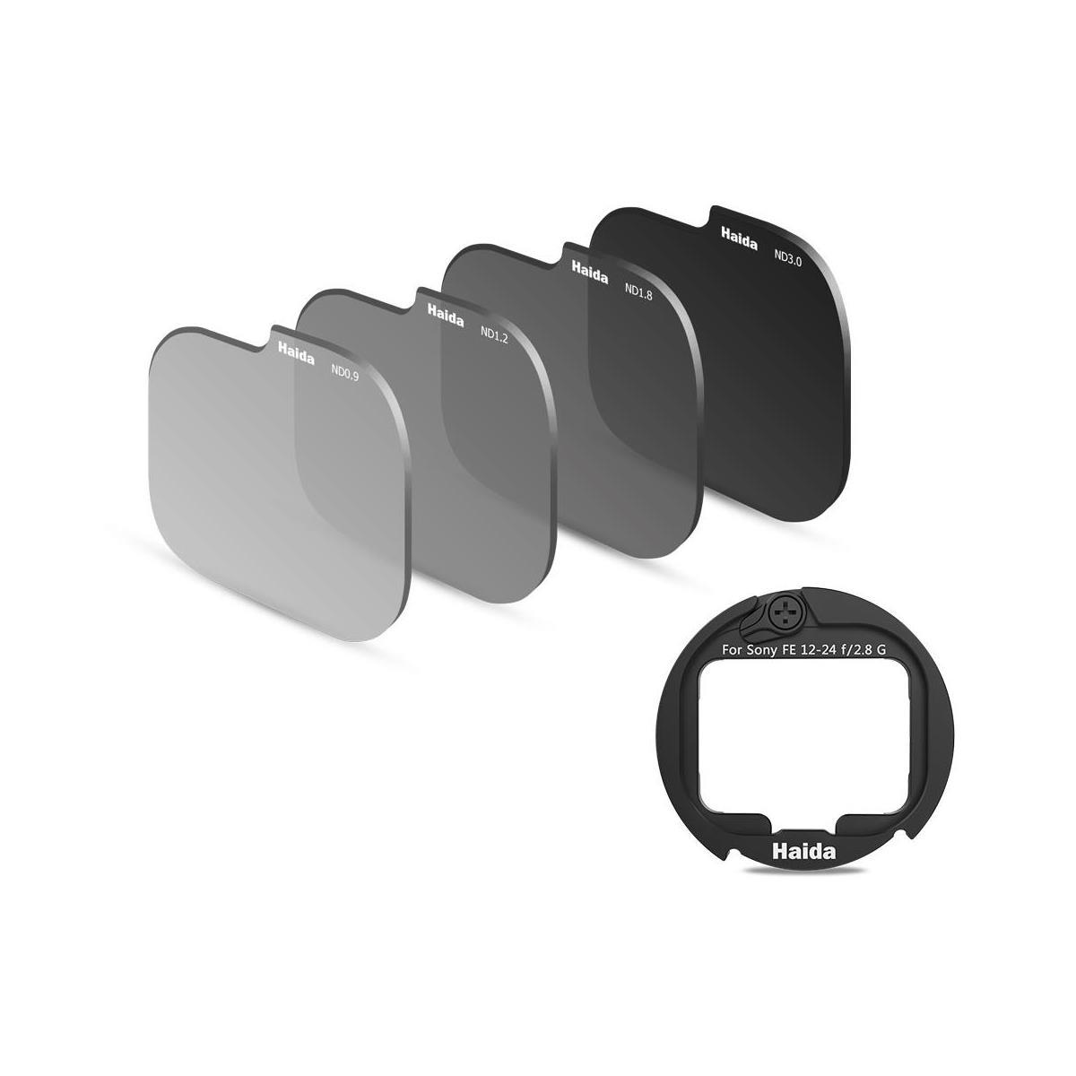 Haida Rear Lens ND Filter Kit for Sony FE 12-24mm f/2.8 GM Lens with Adapter Ring