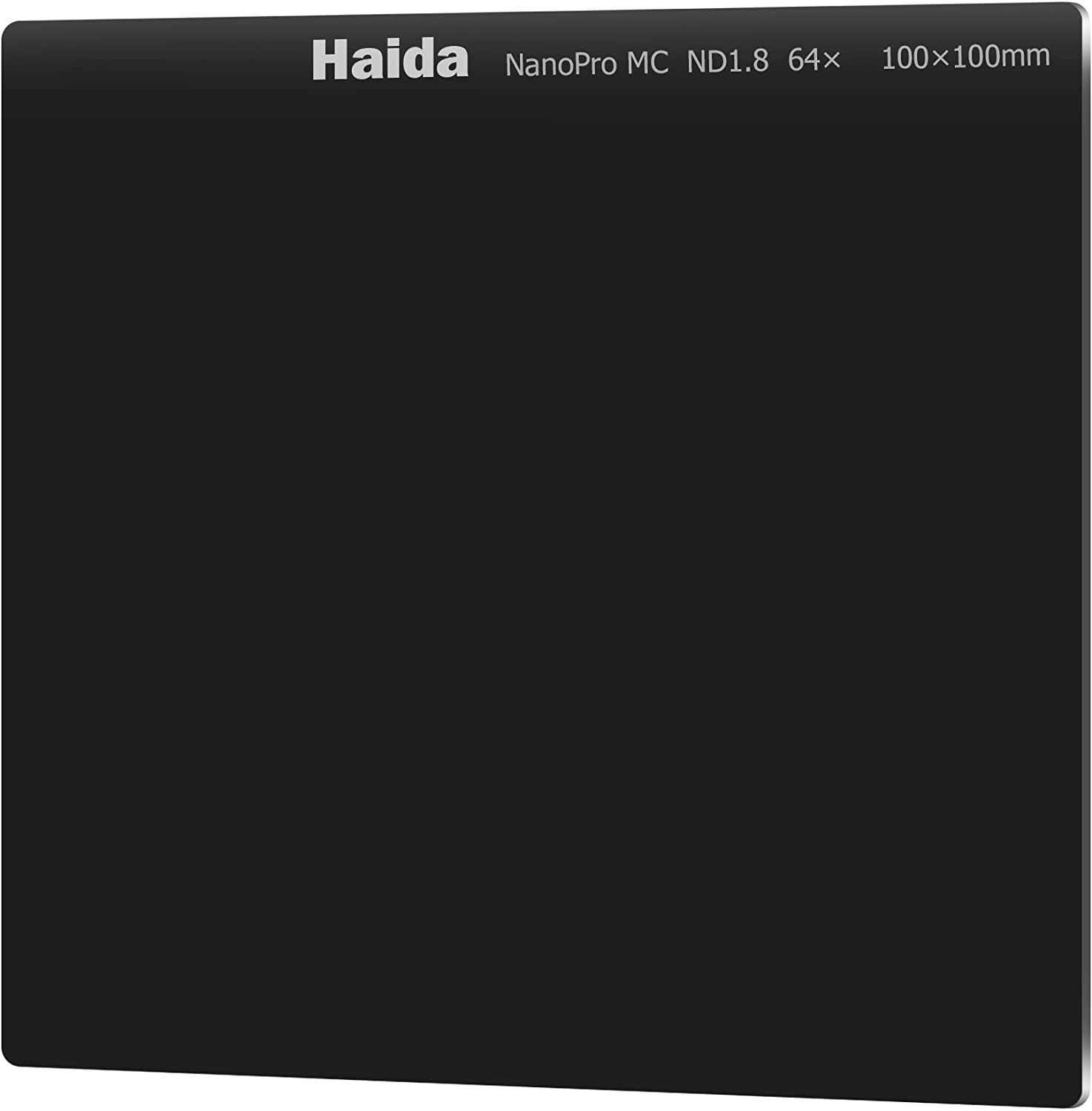 Haida NanoPro ND1.8 (64x) 6-Stop Multicoated Filter 100x100mm