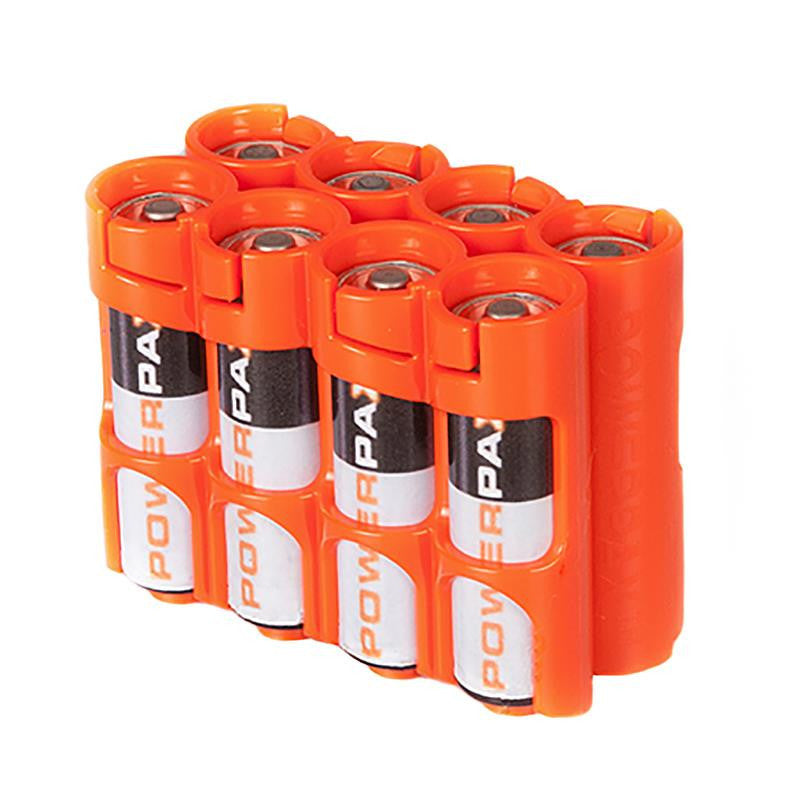 Storacell 8 AA Pack Battery Caddy (Orange)