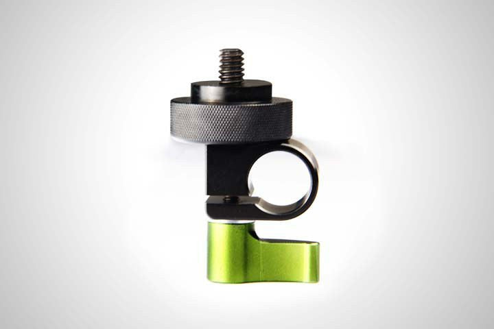 Lanparte Single Rod Clamp Fr Microphone,Light,Monitor 1/4 thread