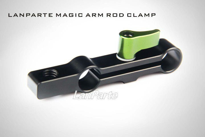 Lanparte MAC-01 Magic Arm Clamp Fr 15mm Rod  Rig w/ 3/5 Thread