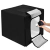 "Portable Photo Studio Foldable LED Light Tent 16""x16""x16"""