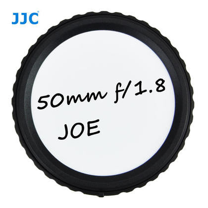JJC RL-CA Writable Rear Lens Cap For CANON EF-S Mount Lens