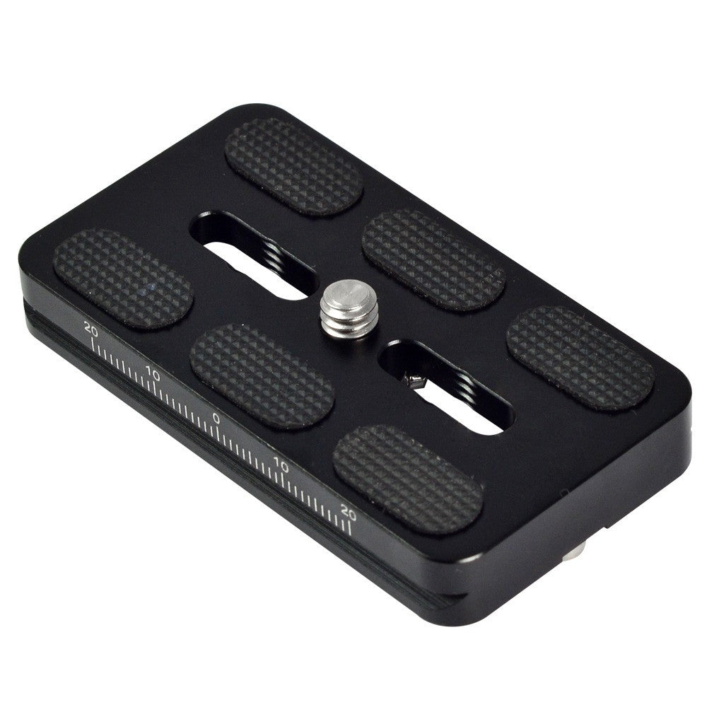 Quick Release Plate QP-70 70mm For Camera Tripod Head Compatible with Arca-Swiss