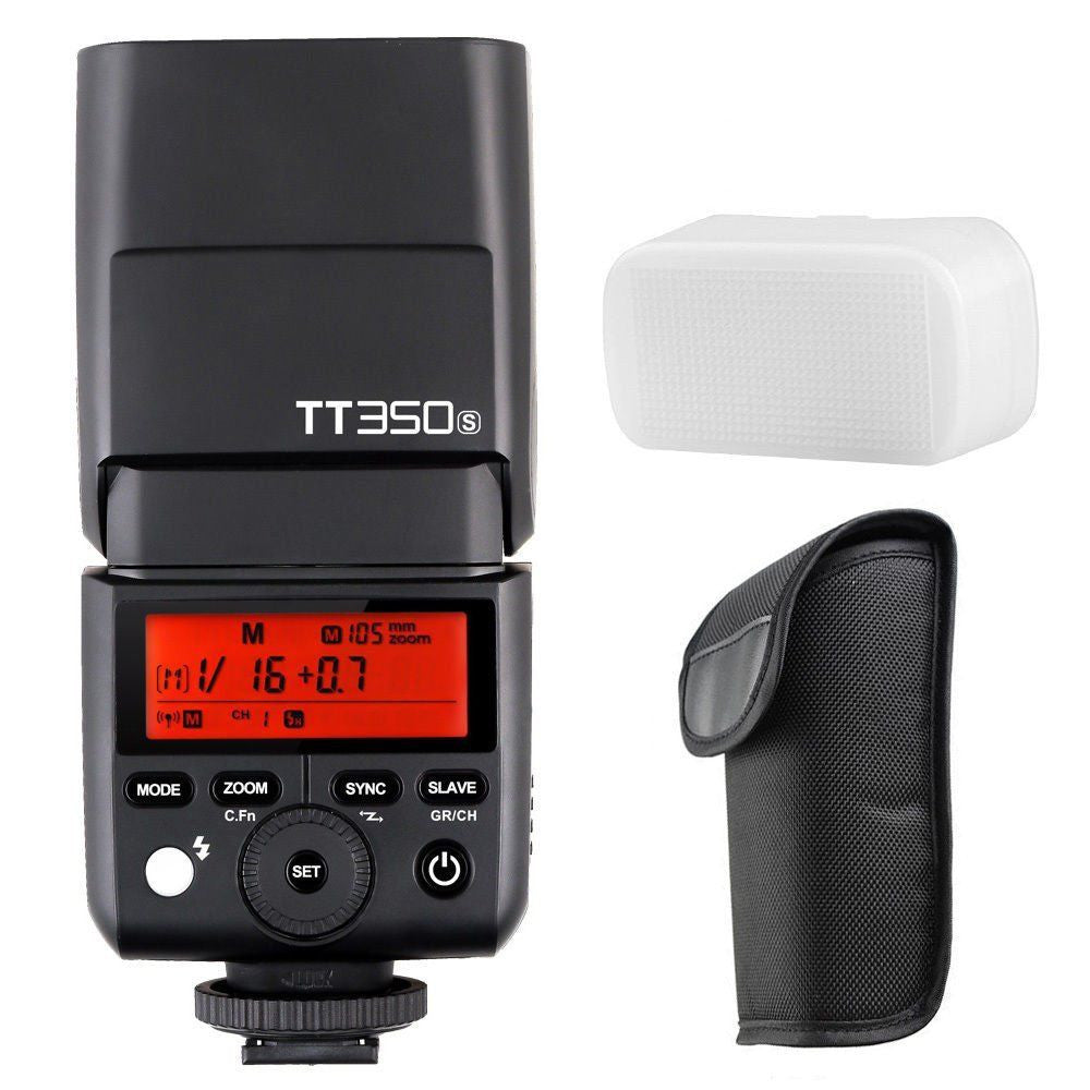 Godox TT350S 2.4G TTL Mini Camera Flash Speedlite Speedflash for SonyA7 A7II A6500 A6300