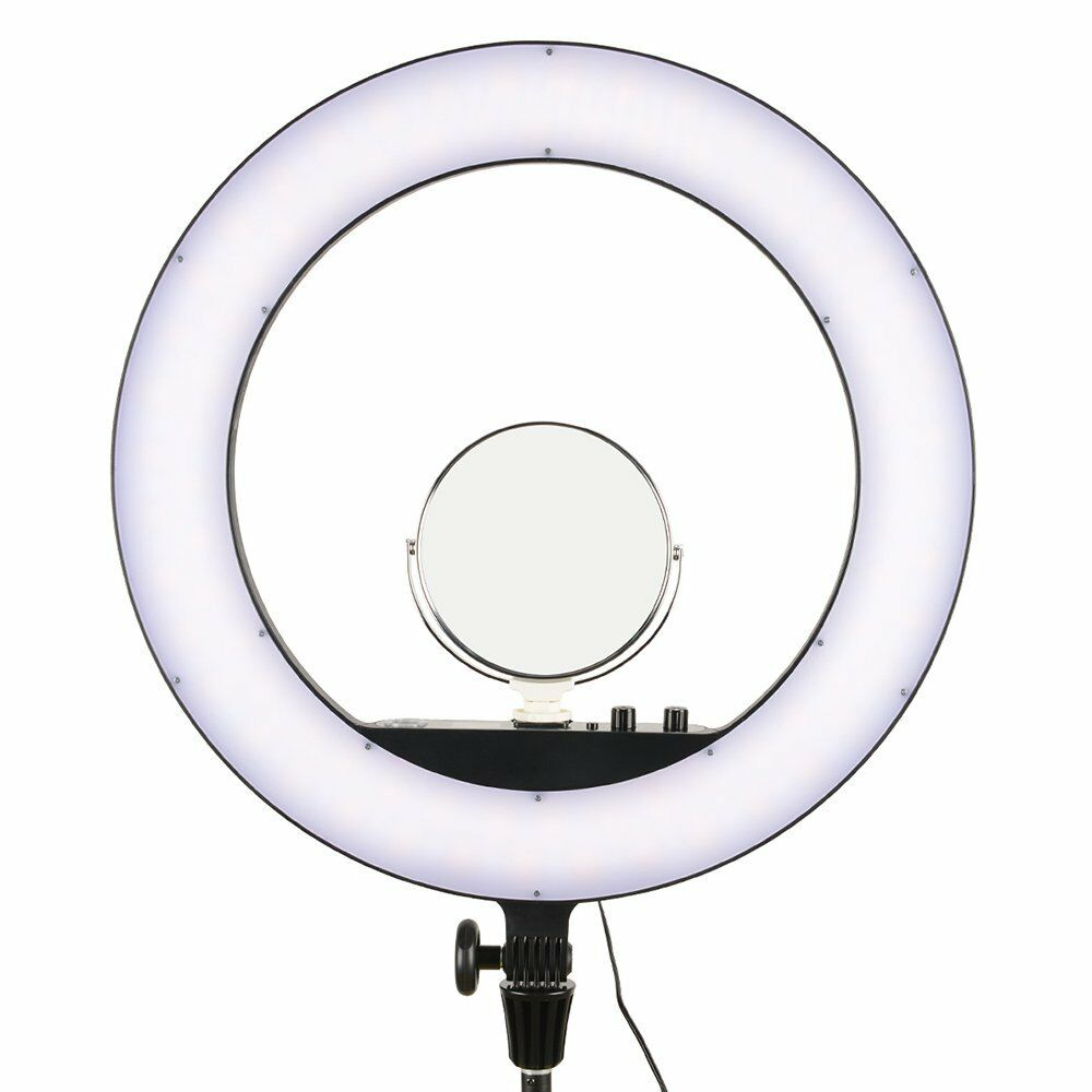 Godox LR160 LED Bi-Color Ring Ligh Dimmable 3300-8000K (Black)