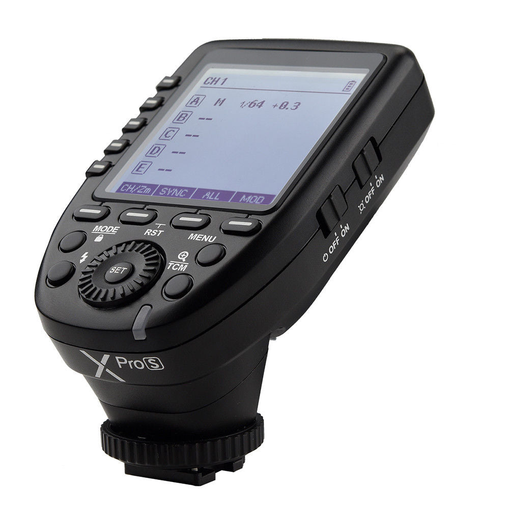 Godox XPro-S TTL 2.4G Wireless Flash Trigger for Sony Cameras