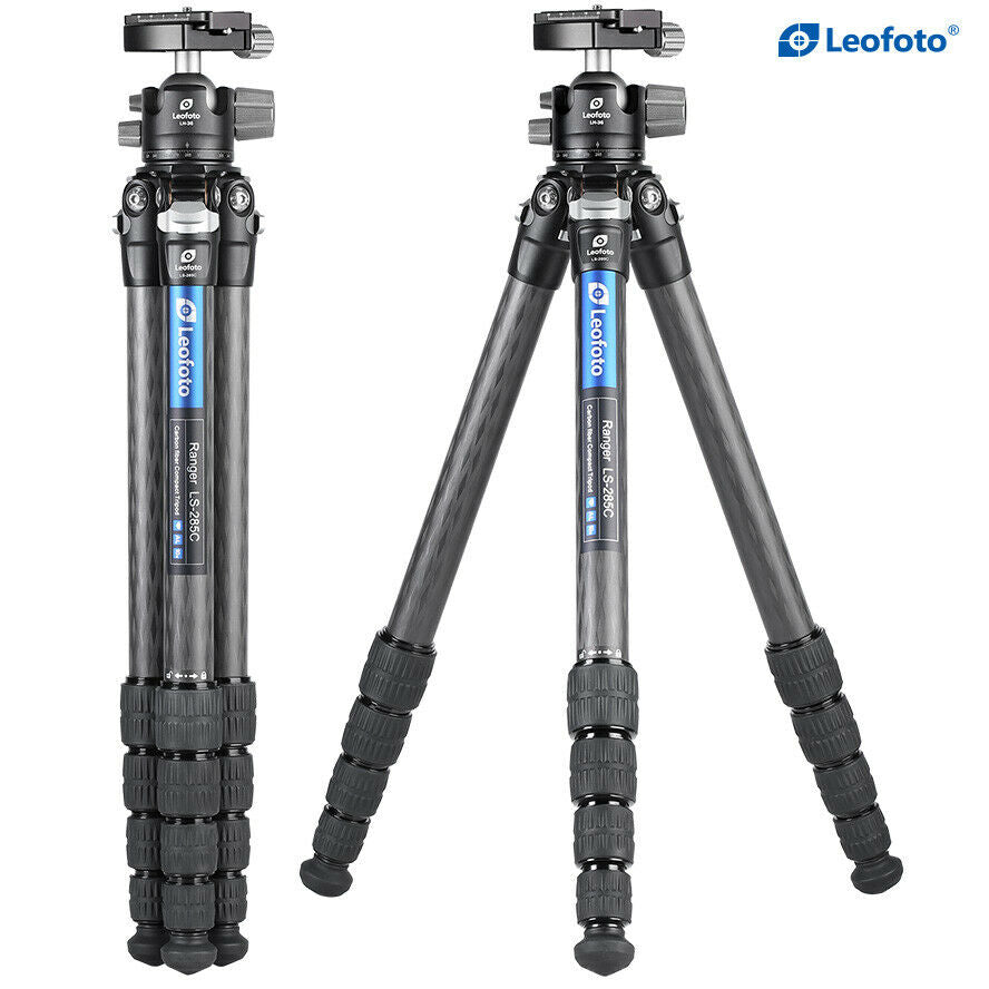 Leofoto LS-285C with LH-36 Head  Ranger Series Tripod Kit