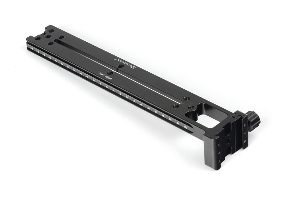 Sunwayfoto DMC-285R 285mm Vertical Rail  w 90° on-end Screw-Knob Clamp Arca /RRS Compatible