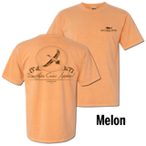 Pintail Oval in Melon Comfort Colors™ - CLOSEOUT
