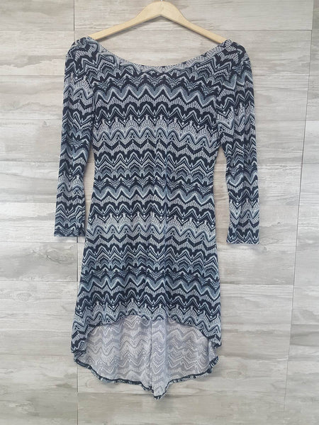 Paisley Print Knit Dress