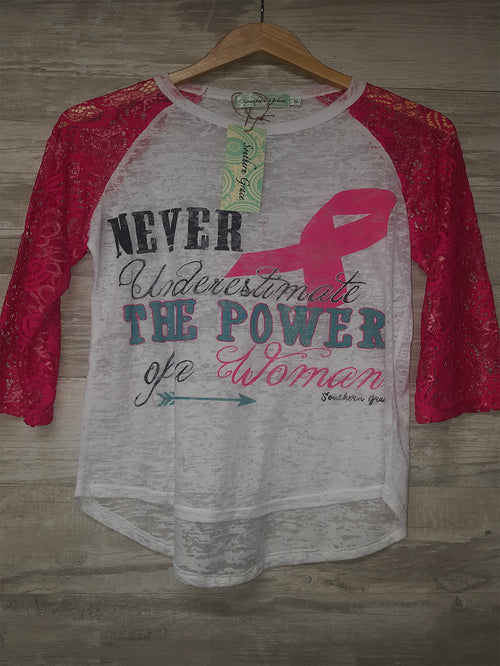 Never Underestimate The Power of A Woman - CLOSEOUT