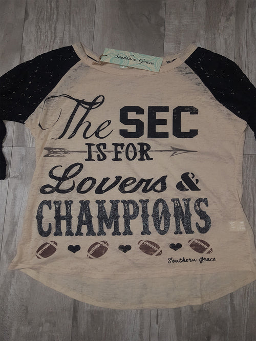 The SEC is for Lovers and Champions!