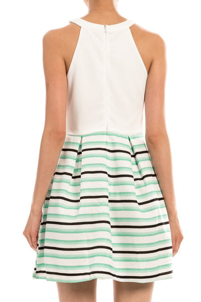Dress - Talk Of The Town In Mint