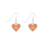 Jewelry - Tennessee Vols Heart Earrings
