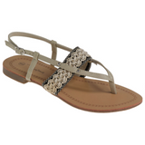 Passions Sandal In Beige