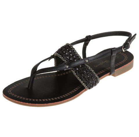 Passions Sandal In Black