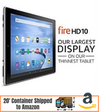 Fire HD 10 Tablet with Alexa