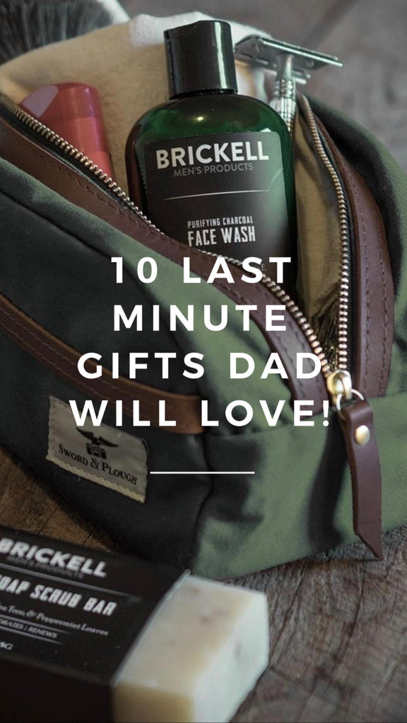 10 Last Minute Father's Day Gifts