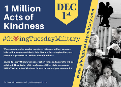 Giving Tuesday Military information